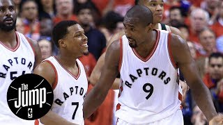 Kyle lowry, serge ibaka sign three-year contracts with raptors | the jump | espn