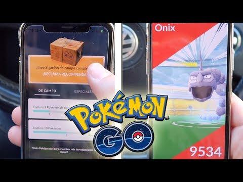 Mi RECOMPENSA de INVESTIGACIÓN SEMANAL, INCURSIÓN ONIX SOLO en Pokémon GO y WOOTBOX ABRIL! [Keibron] thumbnail