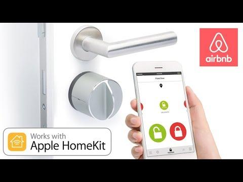 Умный замок Danalock V3 умный дом Apple HomeKit полный обзор + airbnb + конкурс
