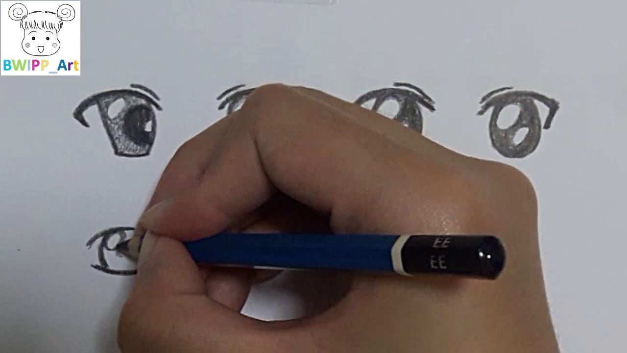 สอนวาดตา อนิเมะ แบบง่ายๆ How To Draw Anime Eyes