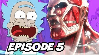 Rick and Morty Season 3 Episode 5 - Easter Eggs and References