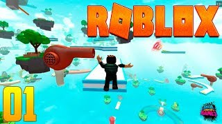 Parkour Extreme Mega Challenge-Roblox – Gameplay #1 (No commented)
