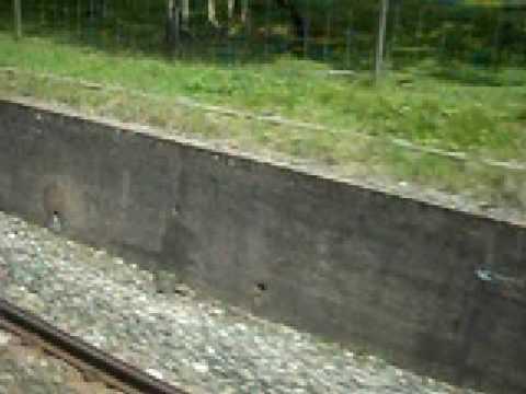 class 153 entering blea moor tunnel