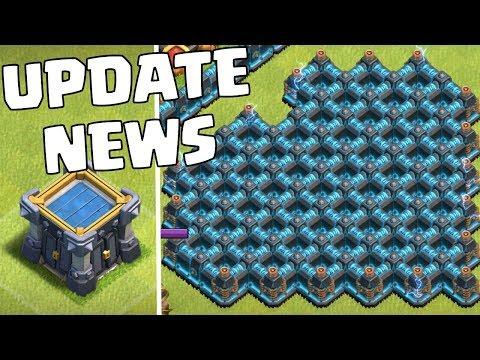 BLAUE MAUERN in Clash of Clans?! Update News ☆ Coc