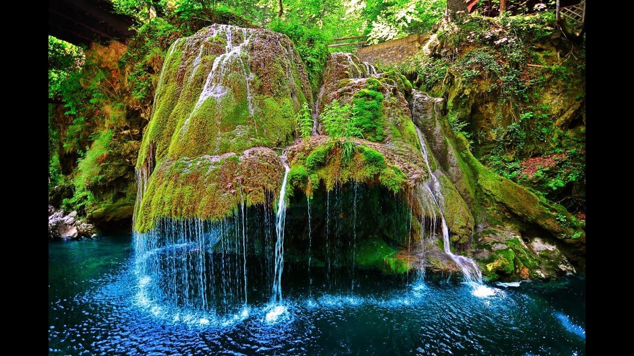 Beautiful Bigar Waterfall, Romania - YouTube