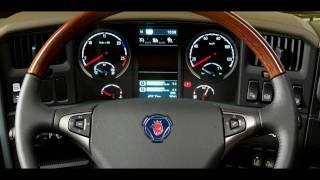 Нова Scania R-серії, дизайн інтер'єру