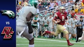 Boston College vs. Wagner Football Highlights (2016)