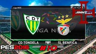 PES 2016 T2 Rumo ao Estrelato #10 Liga NOS Tondela vs Benfica