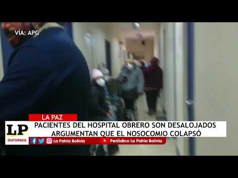 Pacientes del Hospital Obrero de La Paz ...