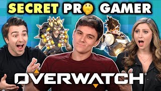 Download Professional Overwatch Player DESTROYS Gamers (React) Mp3 and Videos