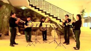 Jobata Brass Quintet, Indonesia playing Bengawan Solo