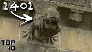 Top 10 Scary WARNINGS From The Past - Part 2 by MostAmazingTop10
