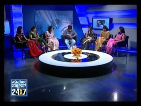 Seg_ 1 - Yograj Bhat With Suvarna Girls - 24 Oct 2012 - Suvarna news