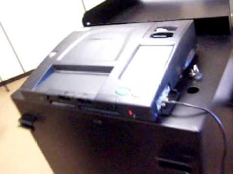 Voter tests Dominion ImageCast