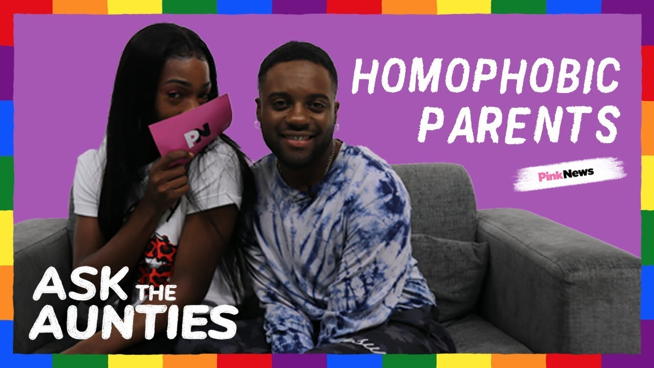 Ask the Aunties: How to deal with homophobic parents - YouTube