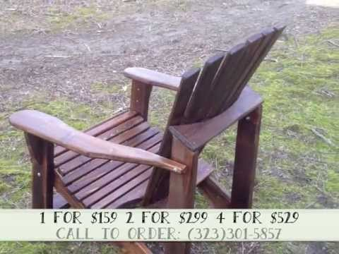 Chestnut Stained U0026 Varnished Cedar Adirondack Chair