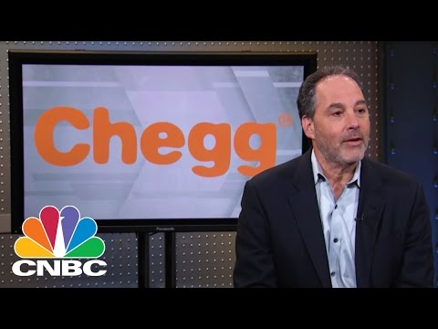 Chegg CEO: The Netflix Of Textbooks?  Mad Money  CNBC