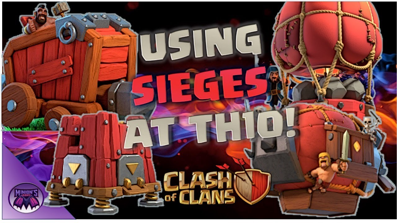 *How to use the Siege Machine at Th10!*  What is a Siege Machine \_o_/ ???