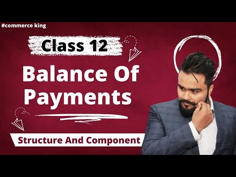 #36, Macro Economics | Balance Of Payment |  Structure And Component (Class 12 Macroeconomics)