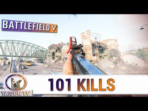 Battlefield V 101 kills con la STG44, el Kar, el Selbstlader y el Valantine AA thumbnail