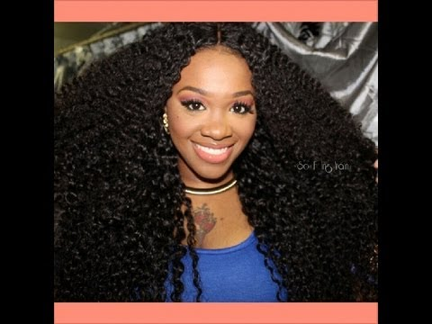 PINK DIAMOND EXTENTIONS/ GENESIS VIRGIN HAIR / FULL REVIEW - YouTube