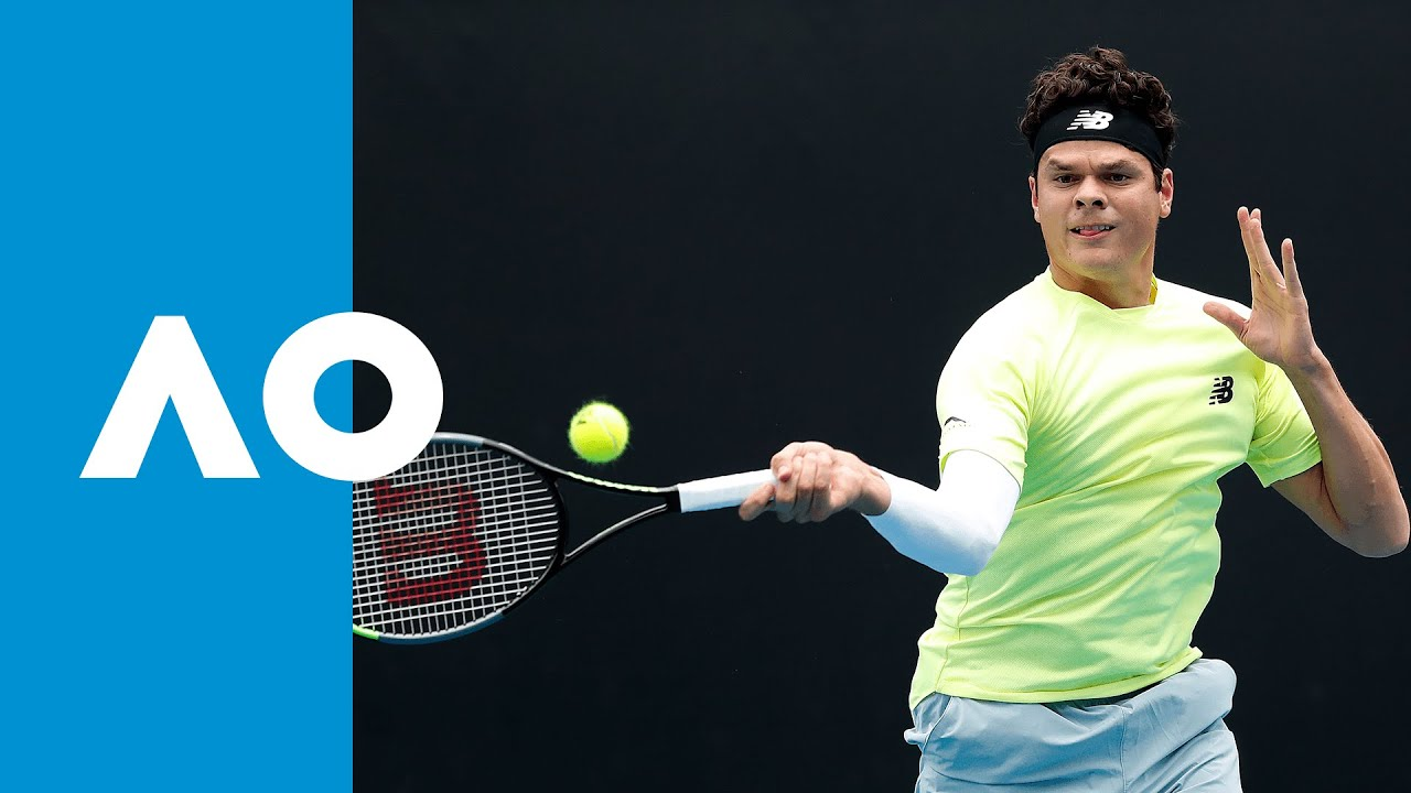 Lorenzo Giustino Vs Milos Raonic Match Highlights 1r Australian Open 2020