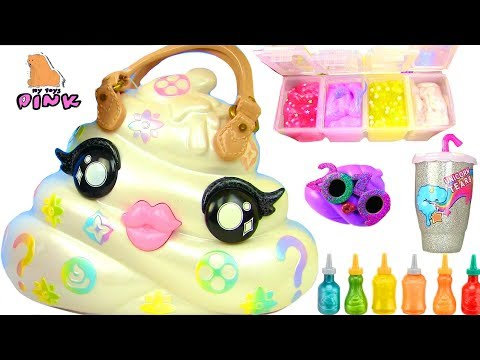 СУМКА СЮРПРИЗ С ЛИЗУНАМИ! DIY SLIME MAKER SURPRISE Bag Pooey Puitton Слайм Своими Руками