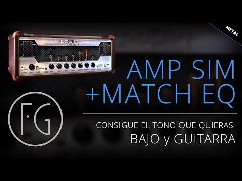 Emulación + Match Eq con Plug-ins completamente gratis (Rock/Metal)