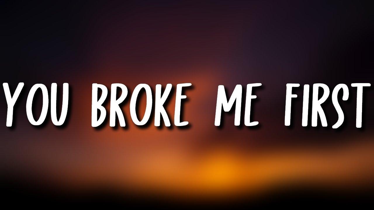 Tate McRae - you broke me first (Lyrics) (Conor Maynard Cover)