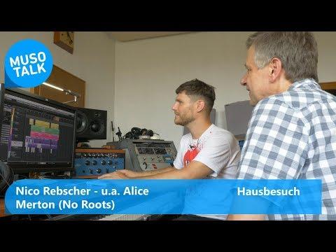 Alice Merton No Roots ua produziert Nico Rebscher mit Cubase - Hausbesuch