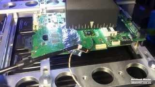 ★ Ремонт ноутбука Asus - замена чипсета на материнской плате(В этом видео я покажу процесс ремонта ноутбука Асус - замена чипсета на материнке. Это продолжение видео..., 2014-09-04T08:09:05.000Z)