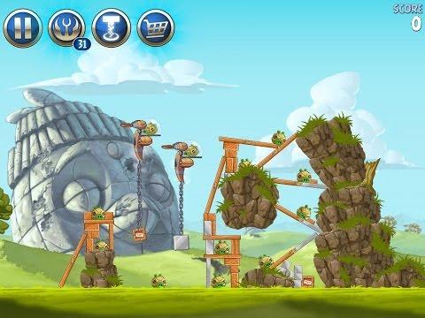 Angry Birds Star Wars 2 Level B3-S1 Battle of Naboo 3-Star Walkthrough