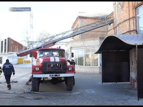 Херсон Плюс: ШГП пройшла перевірку на пожежну безпеку