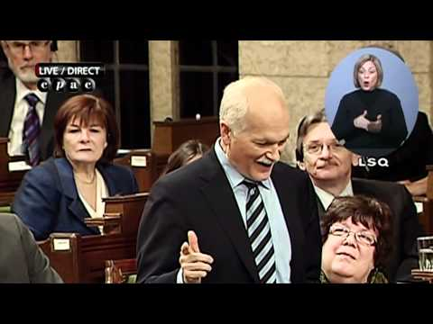 Question period | Période des questions: Jack Layton, March 3rd, 2011
