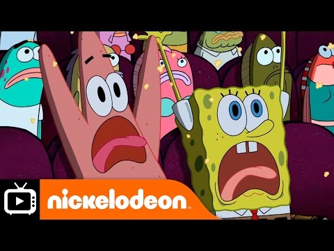 SpongeBob SquarePants | The Fisherman | Nickelodeon UK