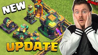 Town Hall 14 Update Sneak Peek #1 | NEW Building + Troop level | Clash of Clans Town Hall 14