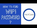 How to find WiFi password in Windows