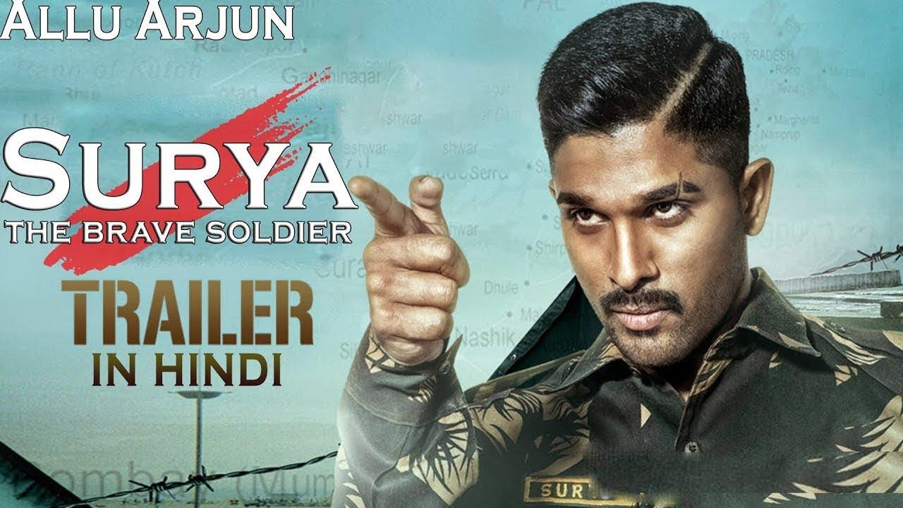Surya   The Brave Soldier 15 Full Hindi Dubbed Trailer   Allu ...
