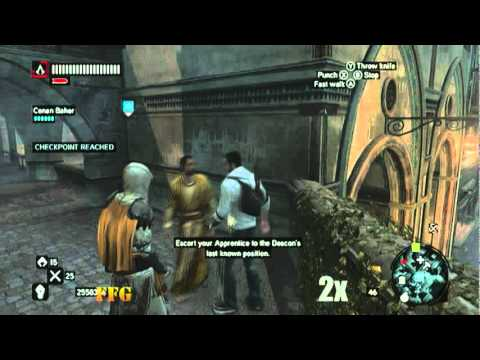 Assassin S Creed Revelations The Deacon Part 1 Fastforward