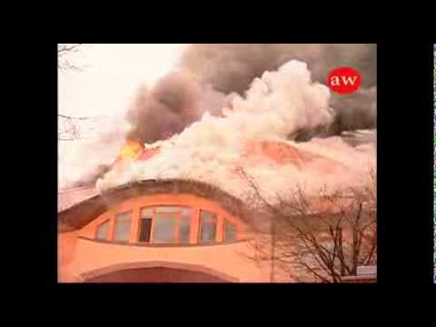 Brand in Waldorfschule