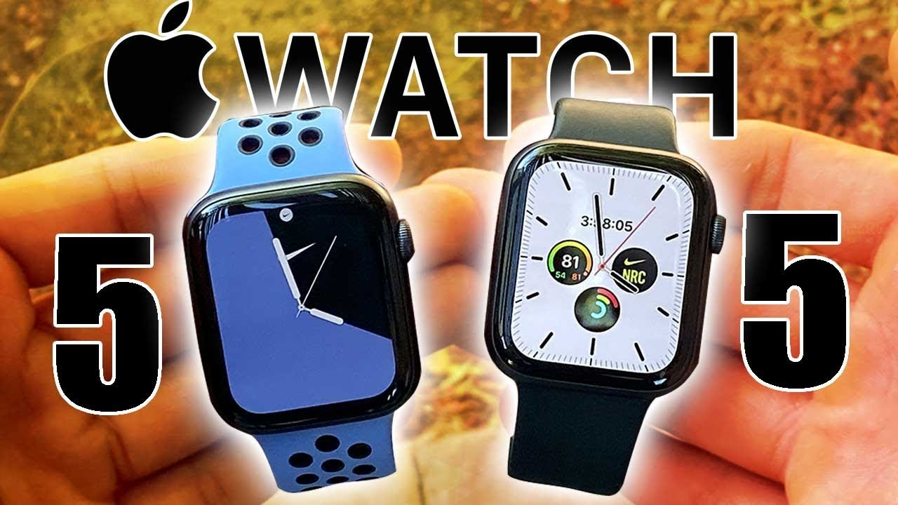 esta Suburbio Así llamado  Apple Watch Nike Series 5 VS Series 5 Spot - What really is the difference?  - YouTube