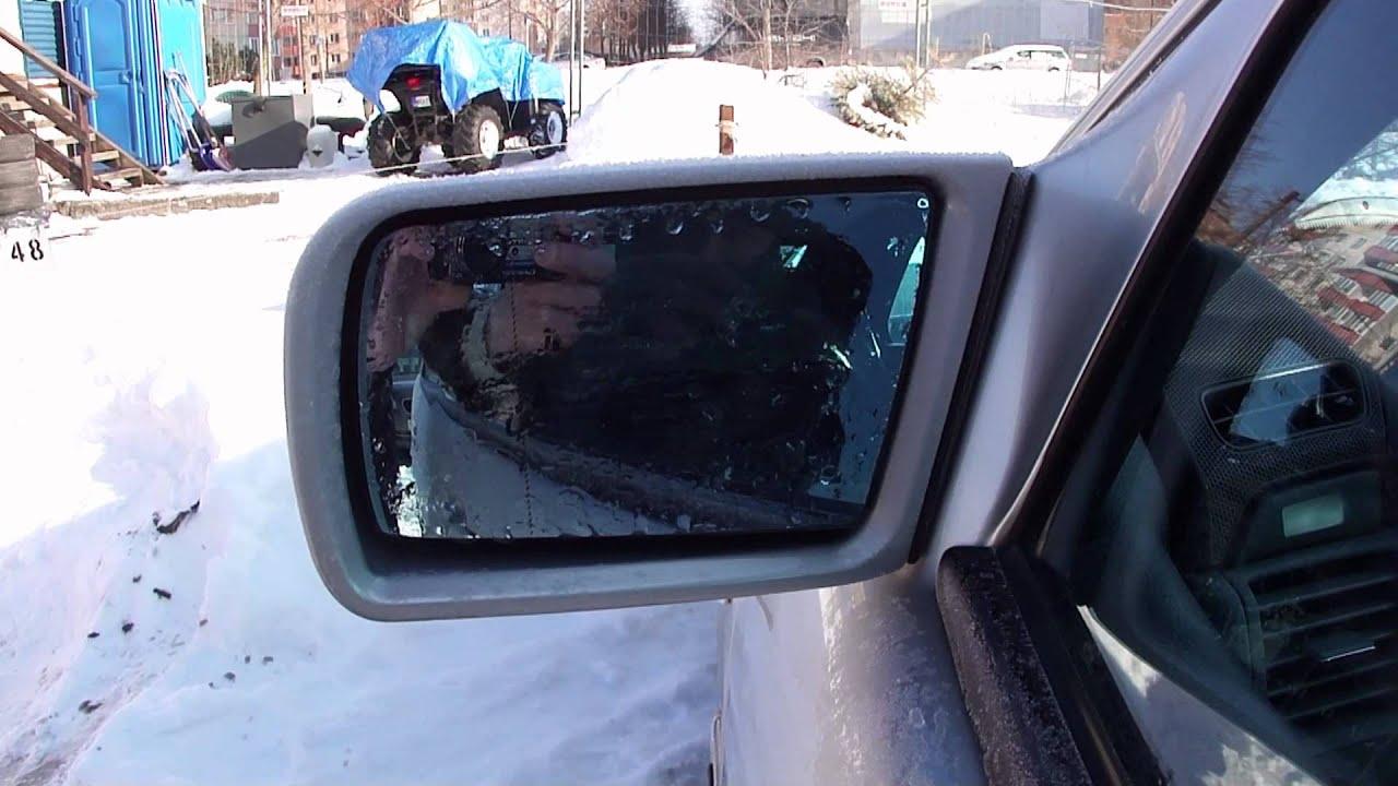 Подогрев зеркала Mercedes W210.Heated mirrors.