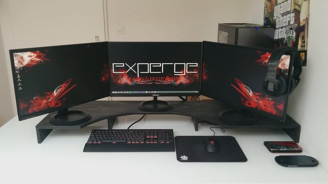 Computer Desk Ideas Setup Wars Ep 1 Submit Your Desk Setup Youtube