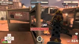 Team Fortress 2 - Mann vs. Machine Co-Op (карта Decoy)