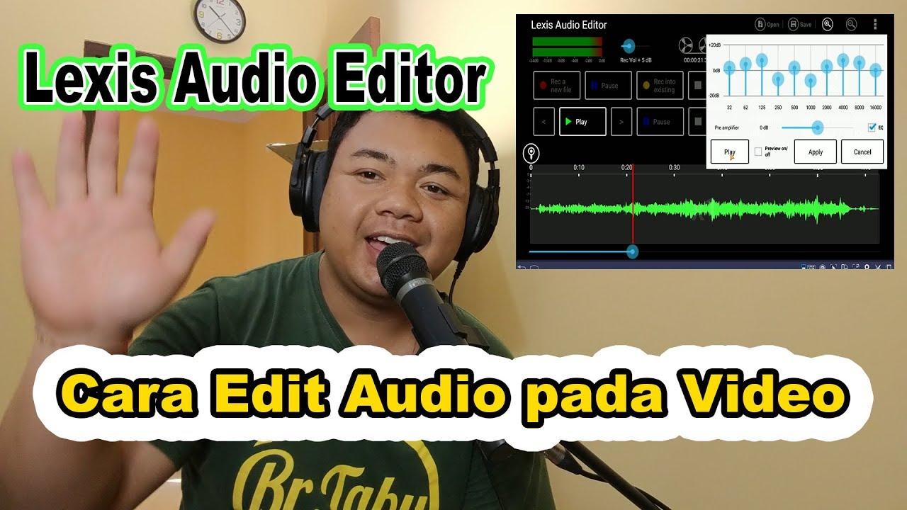 Cara Edit Audio Pada Video Menambah Reverb Pada Video Youtube
