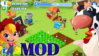 GREEN FARM 3 MOD (Unlimited Money) versi 4.0.6 | putraadam | game mod simulasi berkebun