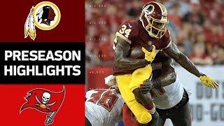 Redskins vs. Buccaneers | NFL Preseason Week 4 Game Highlights