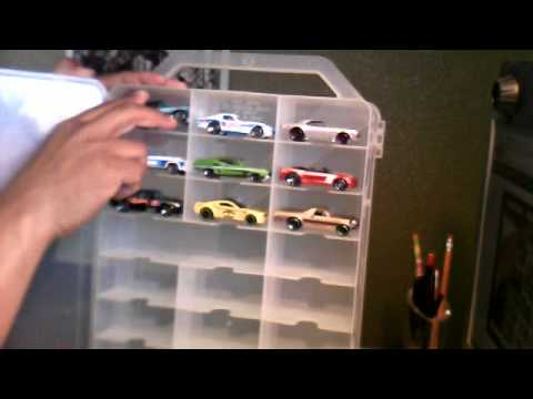 Hot Wheels other collectible cars storage case  YouTube