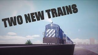 New Trains!   Rails Unlimited   Roblox