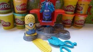 Đồ Chơi Đất Nặn Play-Doh Minion Cắt Tóc (Bí Đỏ) New Despicable Me Minions haircut set